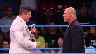 Ethan Carter III Calls Out Kurt Angle for How He's Handled Things... (Sept 10, 2014)