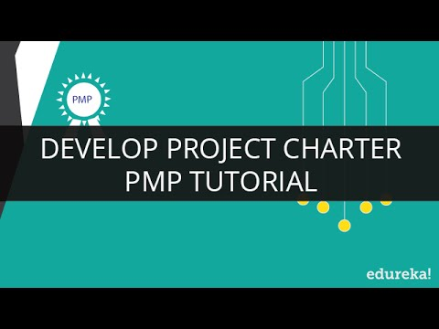 PMP Develop Project Charter | PMP Training | PMP Tutorial |