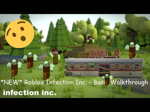 (HOW TO PLAY) ROBLOX INFECTION INC. - FULL BASIC WALKTHROUGH