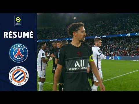 PARIS SAINT-GERMAIN - MONTPELLIER HÉRAULT SC (2 - 0) - Résumé - (PSG - MHSC) / 2021-2022