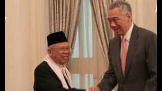 Download Video Ma'ruf Amin Bertemu Perdana Menteri Singapura MP3 3GP MP4