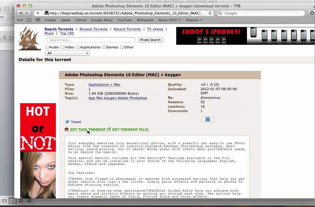 mac edit torrent file