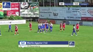 A-Junioren - FV Ravensburg vs. FV Löchgau 1:0 - Moritz Aggeler