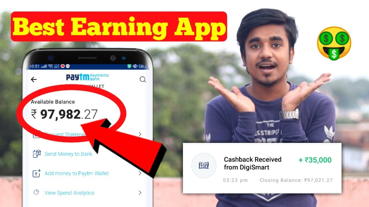 2020 New Self Earning App || Get Free Paytm Cash Without Investment || Part-Time Job || Earnkaro