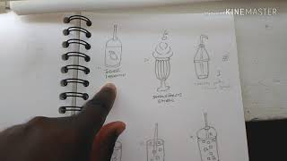 How to draw summer drinks I am Dee Dee Crafts