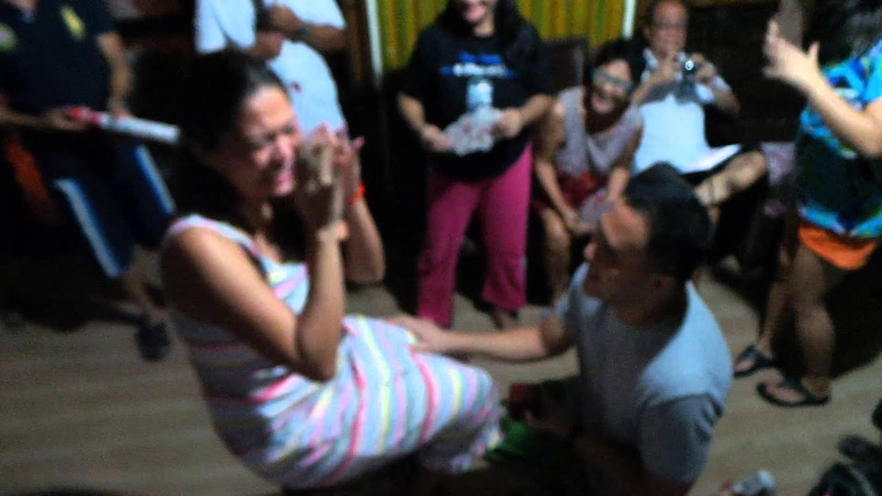 Pinoy Henyo BEST Marriage Proposal EVER! RjMaay YouTube