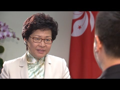 Incoming Hong Kong Chief Executive Carrie Lam on economic future