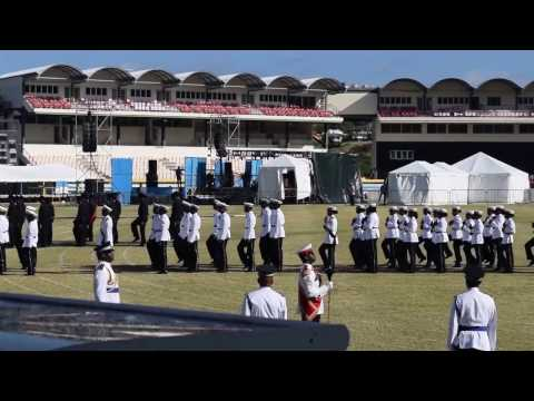 St Lucia's 38th Independence day Parade