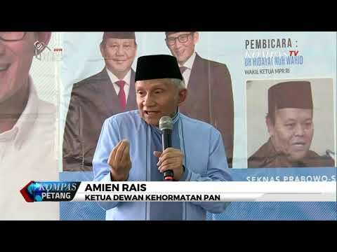 Amien Rais: Jokowi Akan Jadi 'Bebek Lumpuh'