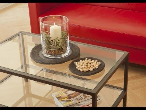 Moderne Einrichtung Idee Wohnzimmer Eisenmöbel - Couchtisch Manon | VARIA LIVING