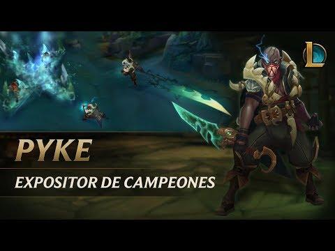 Expositor de campeones: Pyke | Experiencia de juego - League of Legends