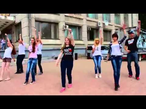 Танцевальный флешмоб   день города   Комсомольск на Амуре   12 06 2013