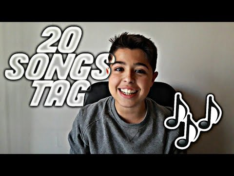 20 SONGS TAG (DIVERTIDO) - Alcher 1607