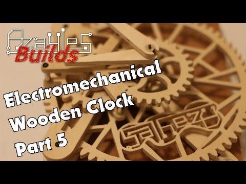 Wooden Electromechanical Clock Build - Part 5
