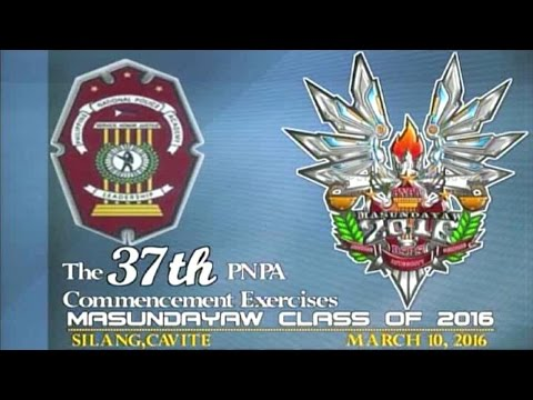 [PTV] The 37th PNPA Commencement Exercises MASUNDAYAW Class of 2016 - PART3 [03|10|15]