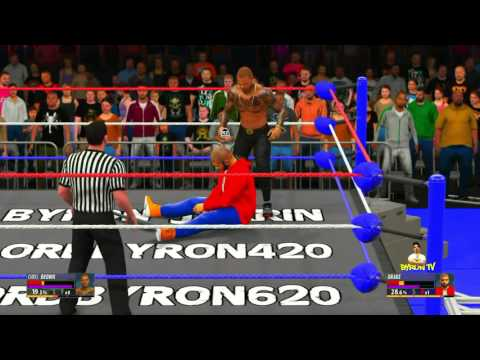WWE 2K16 - Drake VS Chris brown