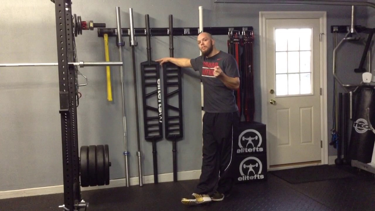 Garage gym tour training tips rogue elitefts