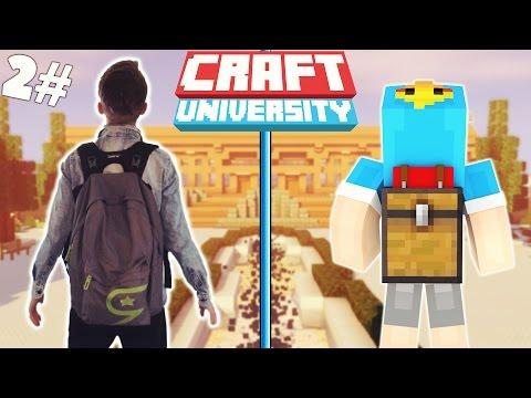 PRIMO GIORNO DI SCUOLA! - CraftUniversity #2 (Minecraft Roleplay)