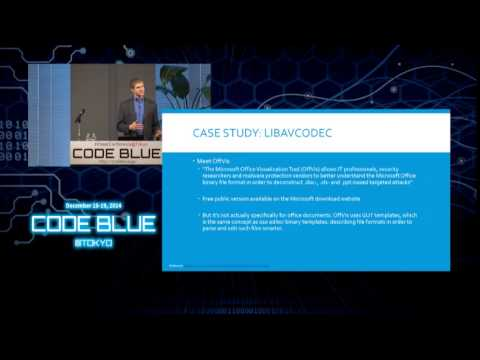 CODE BLUE 2014 : David Seidman - Microsoft Vulnerability Research: How to be a Finder as a Vendor