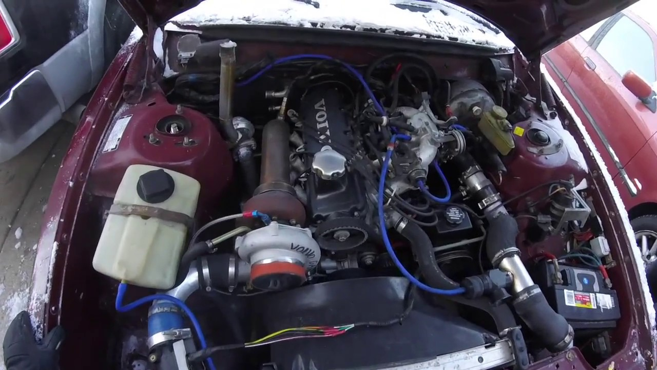 Turbo volvo 240 drift wagon update - YouTube