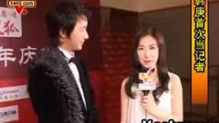 Sohu Event Backstage - Han Geng interviews Zhang Liyin
