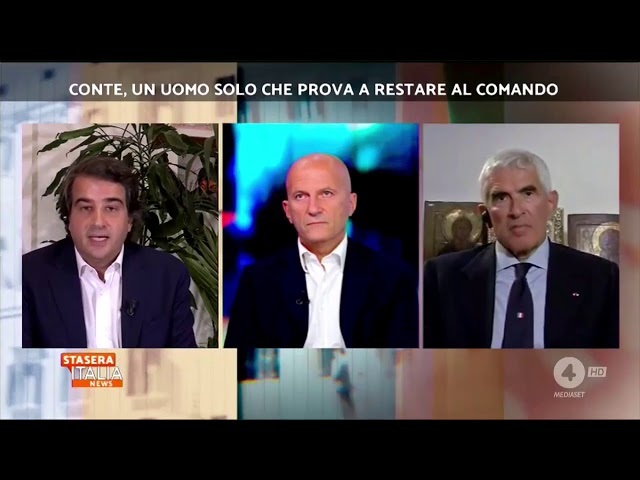 Stasera Italia Rete 4 - On. Raffaele Fitto