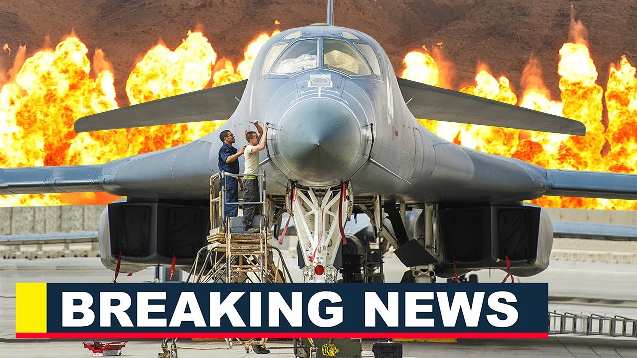 B-1B Lancer Bomber Arrive in Saudi Arabia as Part of US Buildup