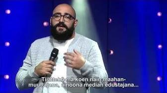 Ali Jahangiri Stand Up - Mamujen edustaja