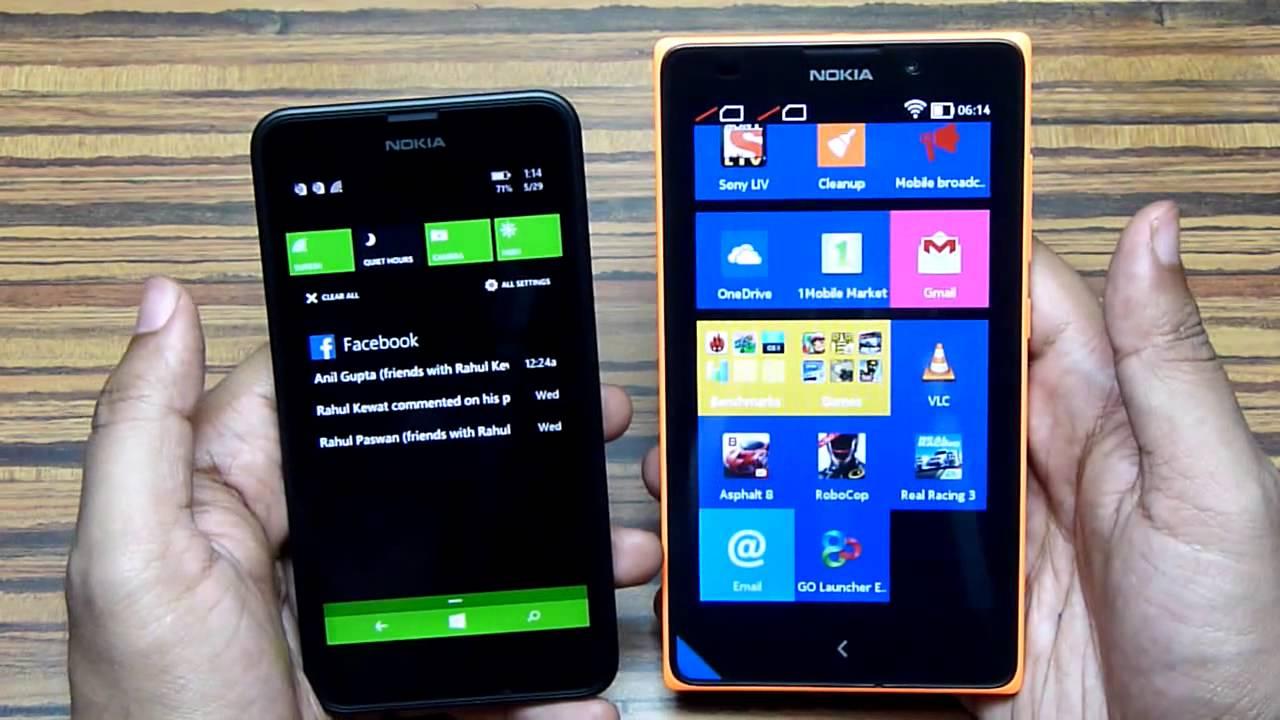 Lumia 630 vs Nokia XL | Windows Phone 8.1 vs Nokia X