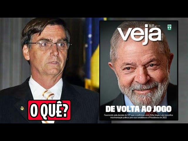 Lula elegível e Bolsonaro desesperado: as voltas que a terra plana dá | Galãs Feios