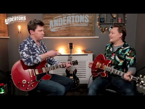 Guitar Paradiso - Gibson ES-349 and Gibson ES-345