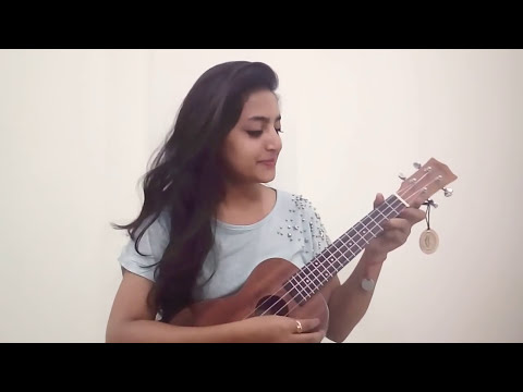 Dil Diya Gallan song cover by Aishwarya Gupta in ukulele