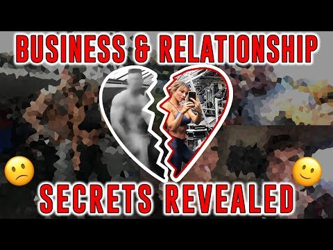 RELATIONSHIP & BUSINESS SECRETS + LEG WORKOUT !!!
