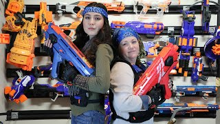 Nerf Gun War - Girl Payback Time | Modded Mayhem 3.0