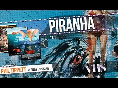 Review - Piranha (1978) + Phil Tippett interview // VHS