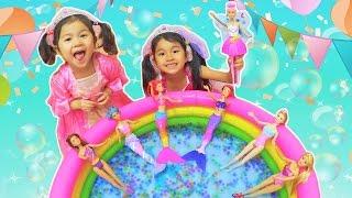 提供:Barbie バービー 女の子の憧れのバービーが プリンセスやマーメイ...