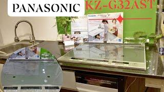BẾP TỪ + BẾP HỒNG NGOẠI + LÒ NƯỚNG PANASONIC KZ-G32AST nội địa Nhật Bản