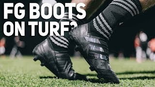 Why Do Pros Wear FG Boots on Turf Fields?