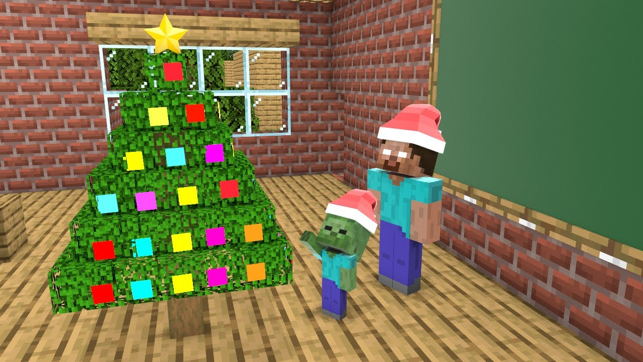 Download MERRY CHRISTMAS (VERSION 1) - SCP AND MONSTER - MONSTER SCHOOL MINECRAFT