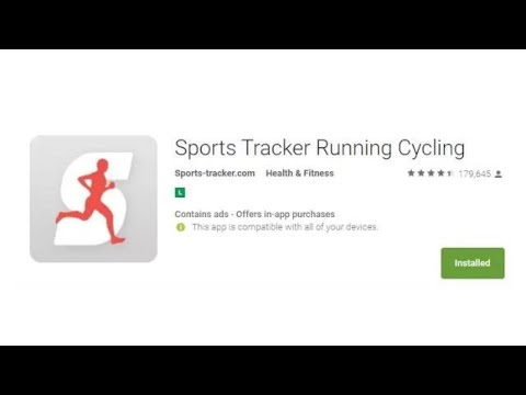 review - Sports Tracker Running Cycling app - aprovado com ressalvas kkk