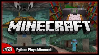 Python Plays Minecraft || Mini Utility Room & Empire Sheep Farm! || Minecraft Survival PC [#63]