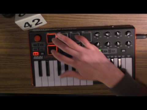Live hip-hop -- BABY CRY on AKAI MPK mini