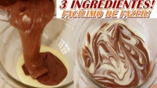 Leite Condensado Caseiro com Chocolate
