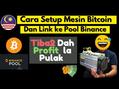 Cara Setup Bitcoin Mining - Tutorial Setup Bitcoin Miner Antminer S9 And Binance Pool