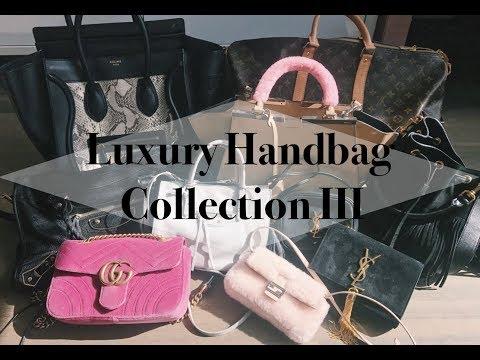 Bag Collection 3 | Saint Laurent, Balenciaga, Fendi, Celine