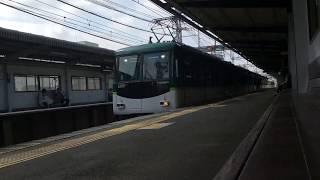 【非常警笛あり】京阪6000系6001編成 牧野通過