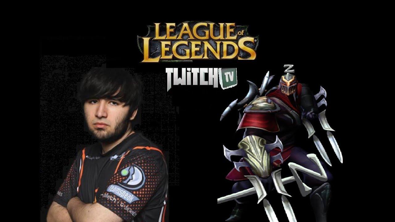 Zed Top Lane Crs Voyboy League Of Legends Season 3 April 2013