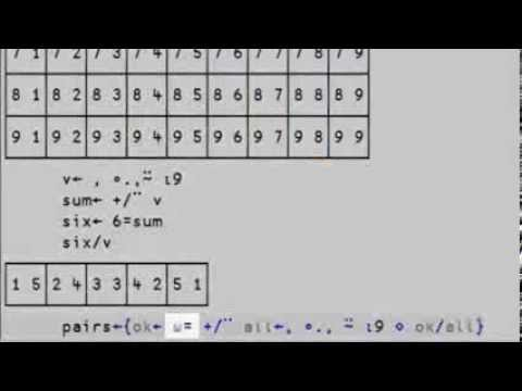 Brute force method to finding all the sets in a row of Kakuro