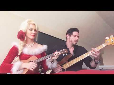 Santa Baby Ukulele Cover by AmiBeth And Joshua Olds