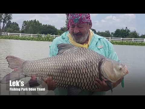 Terry Eustace at Leks Fishing Park Udon Thani